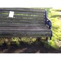 a man made bench