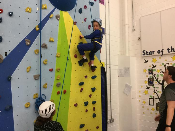 'Look how high I can climb!'