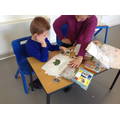 Mateusz was able to complete it independently.