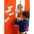 Dylan labels the Roman soldier