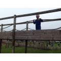 Callum surveying the park