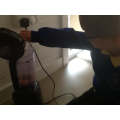 Isaac used the blender to make his smoothie