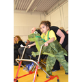 Oak Class wows the audience as Jurassic Park