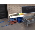Mud kitchen - capacity and weights
