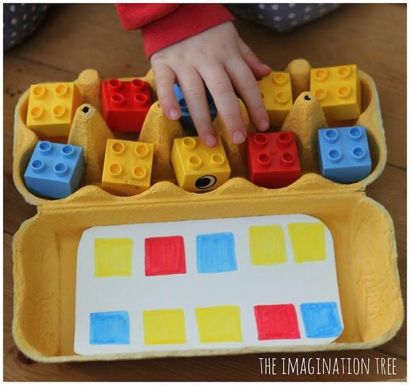 Patterning with lego