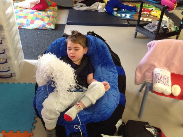 Jack explored shredded tissue like snow