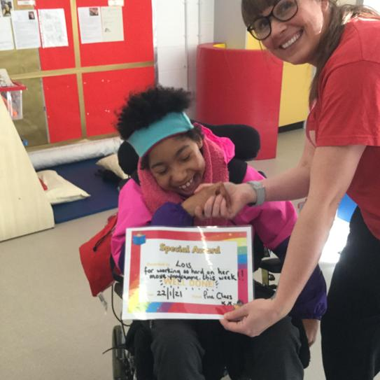 star of the week is lois working hard on move programme