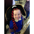 Pirate Ellis reporting for duty!