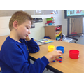This activity developed fine motor skills too!