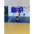 What a throw form Callum with the javelin