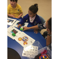 Zinet building using blocks during our play story