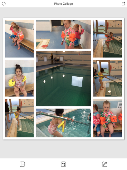 19 /1 Maple class using their Move skill around  and entering the pool.