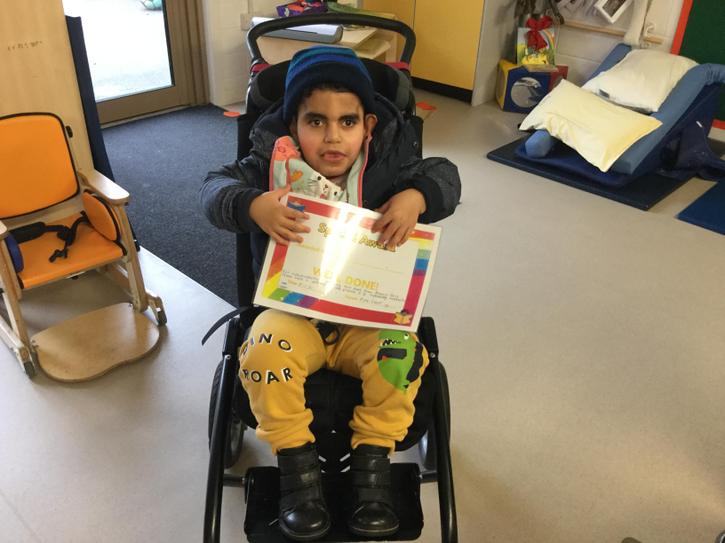 Star of the week- Eslam for working hard in swimming