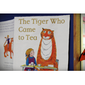 Guided Reading book is 'The Tiger Who Came to Tea'!