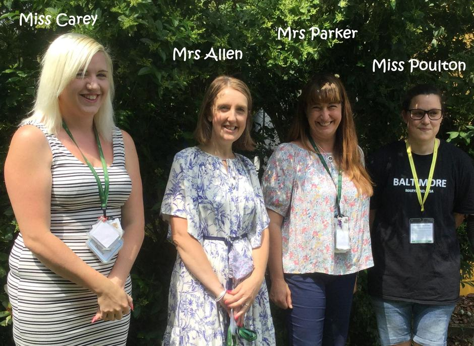 Here are some of our nursery teachers - we can't wait to meet you!