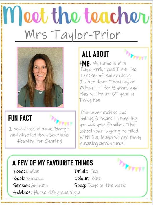 Mrs Taylor-Prior in Hamilton Class