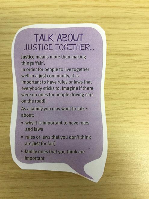 Justice week 2