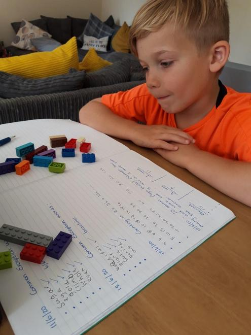 Using Lego for Maths