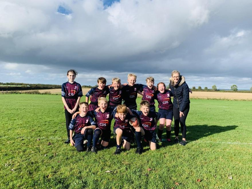 A huge congratulations to the year 5/6 rugby team who came 2nd out of 9 schools!