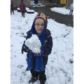 That's a big snowball!