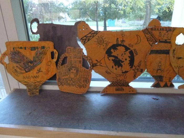 Greek vases