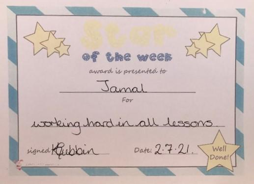 4L Star of the Week