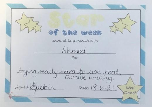 3J star of the week
