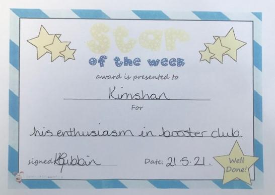 6E star of the week