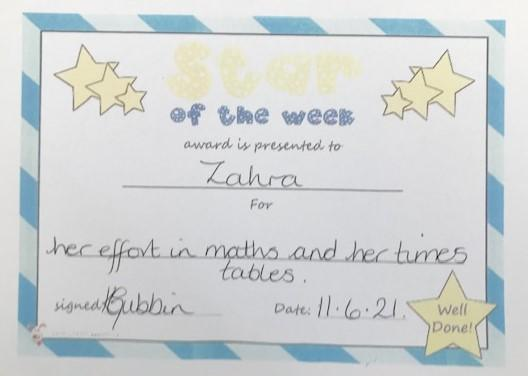 4E Star of the Week