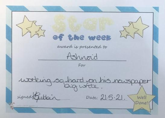 4E A star of the week