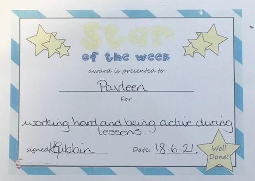 3F star of the week