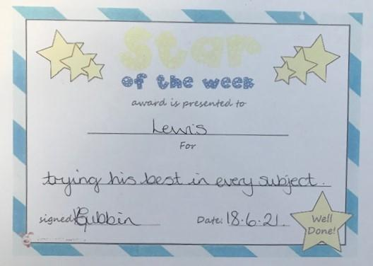 6W star of the week