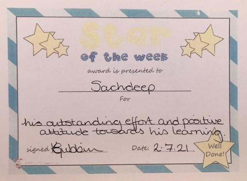 4OC Star of the Week