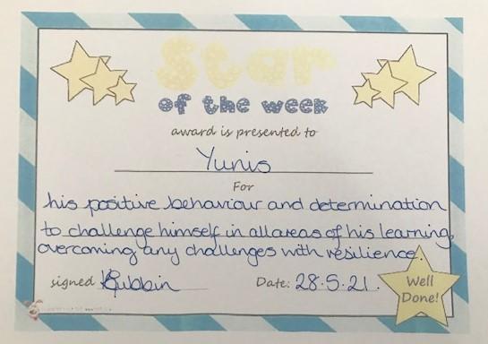 5B Star of the Week