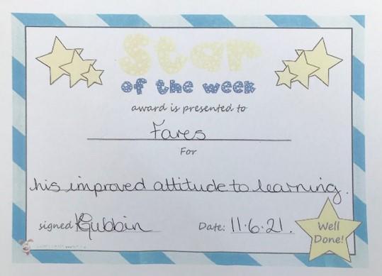 3B Star of the Week