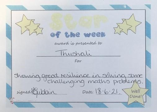5S star of the week