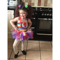 Piper did a danceathon to raise money for Medway NHS