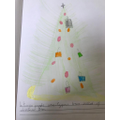 We have 'lit up' a Christmas tree with our Christmas wishes.