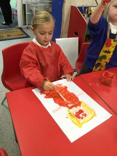 We loved painting Goldilocks