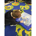 What's in the box? We loved this initial phoneme game.