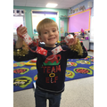 We loved creating paper chains