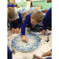 We created lovely stories with the animals