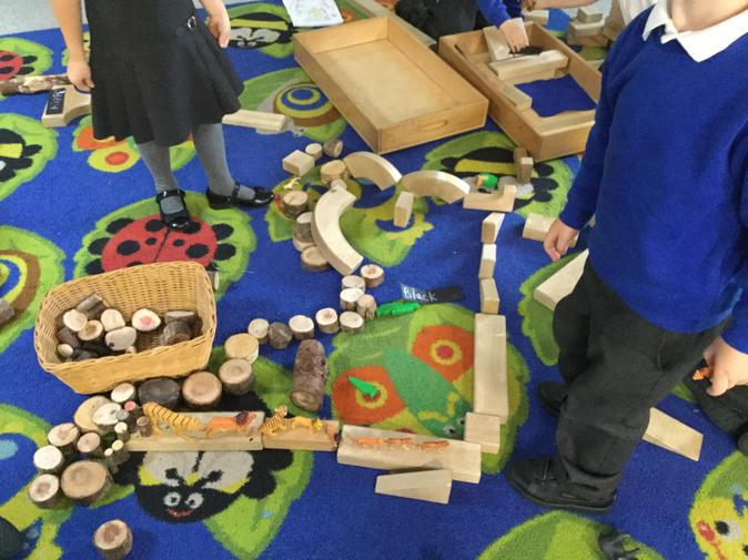 We have enjoyed building and creating.