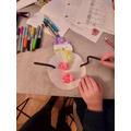 Creating a snowman