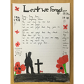 Lest we forget by Victoria and Ruby