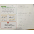 Beautifully presented numeracy work - focus on subtraction.