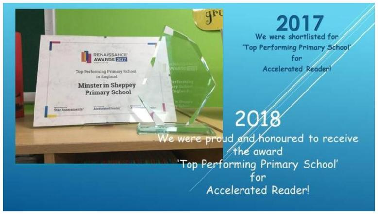 Top Performing School 2018 - Accelerated Reader