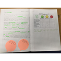 Describing the setting of the story and using expanded noun phrases.