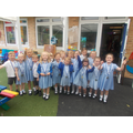 Wagtail Class 96% or above attendance