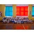 46 children received 100% attendance